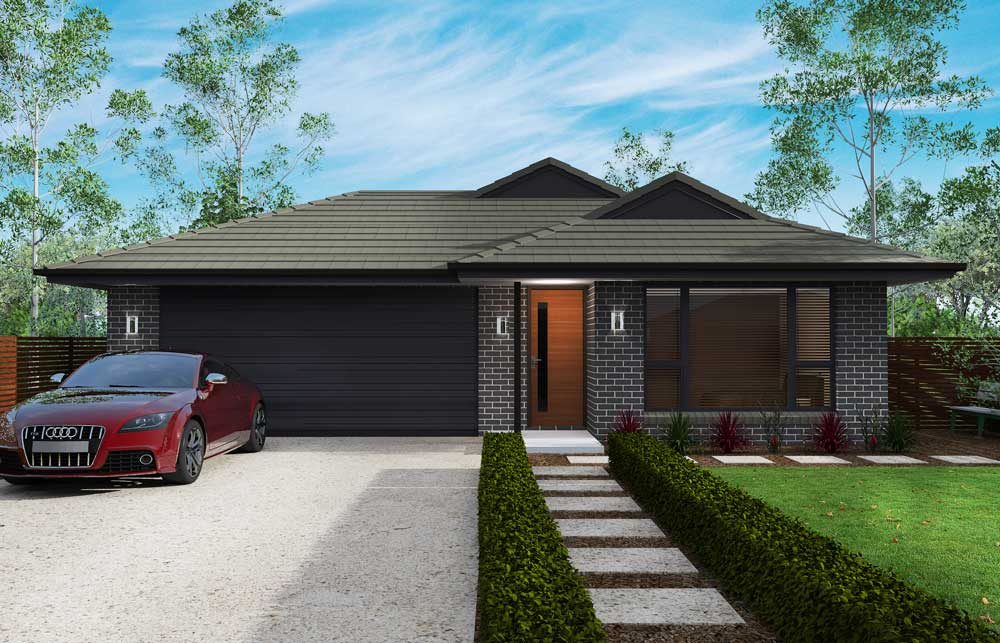 Chelsea 3 bedroom home new trend homes tasmania for Trends in new homes