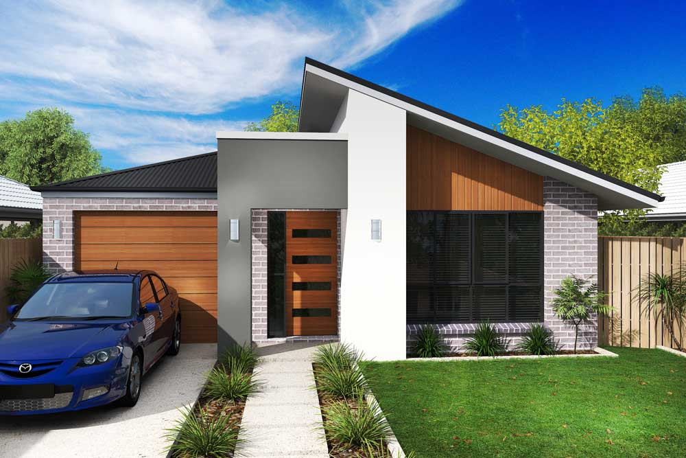 Chloe 3 bedroom home new trend homes tasmania for Trends in new homes