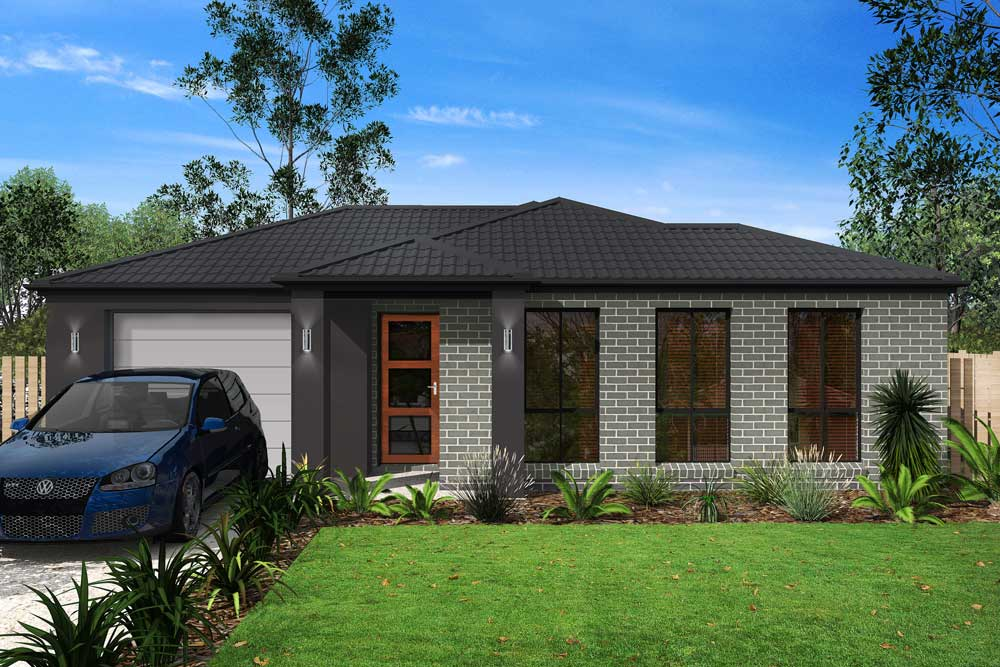 Holly 3 bedroom home new trend homes tasmania for Trends in new homes