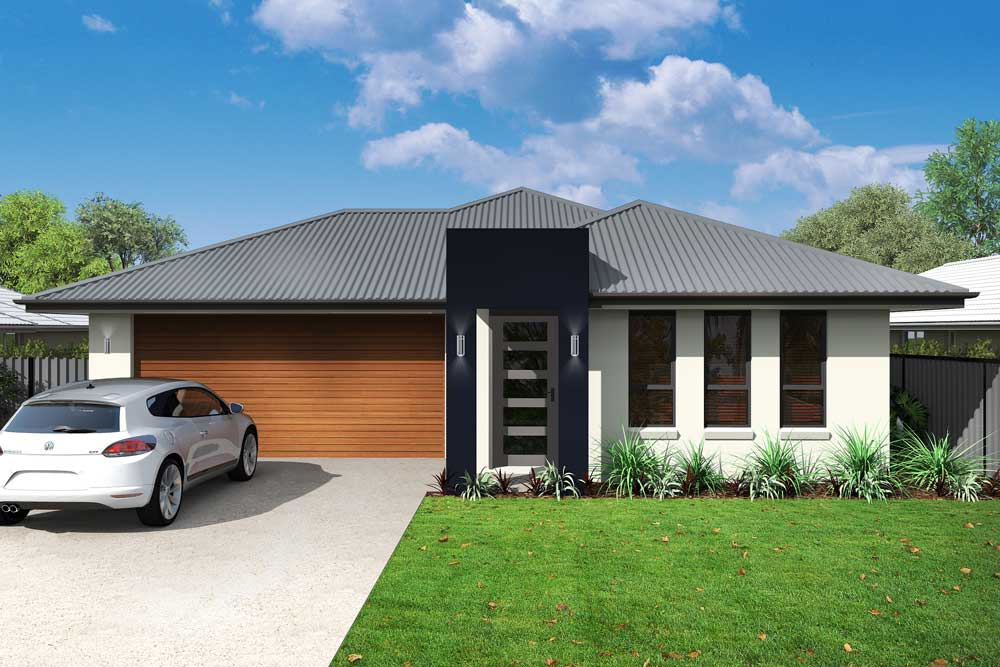 Rubi 3 bedroom home new trend homes tasmania for Trends in new homes