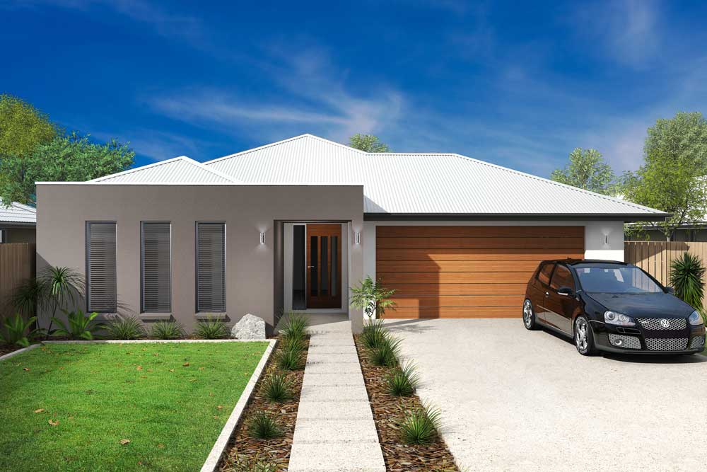 Jax 4 bedroom home new trend homes tasmania for Trends in new homes