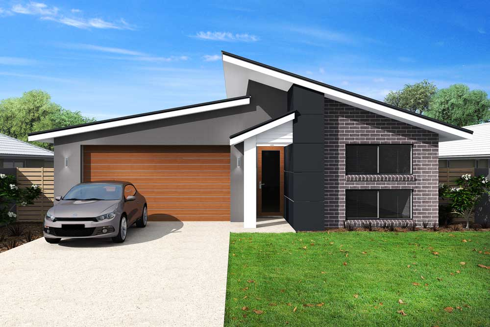 Jordan 4 bedroom home new trend homes tasmania for Trends in new homes
