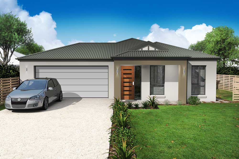 Hamilton 4 bedroom home new trend homes tasmania for Trends in new homes