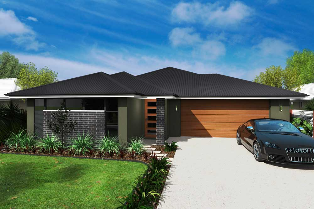 Catseye 4 bedroom home new trend homes tasmania for Trends in new homes