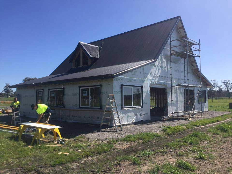Insulation And Cladding New Trend Homes Tasmania