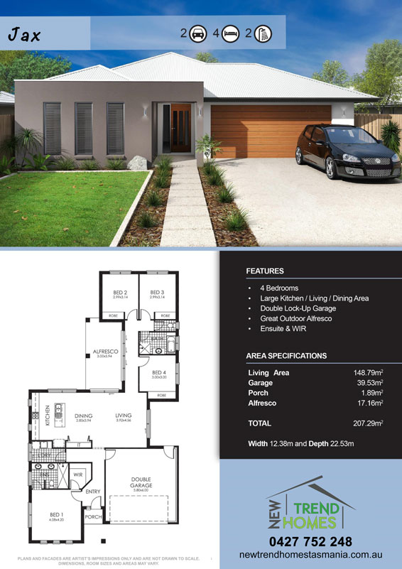 House plans tasmania 28 images house designs homes for Home designs tasmania